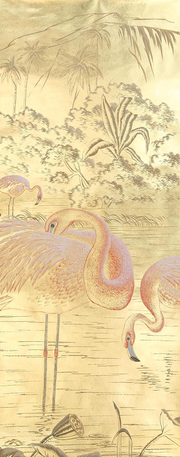 Новую коллекция обоев ручной работы от de Gournay   галерея [1] фото [2]