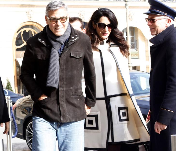 Джордж и Амаль Клуни фото