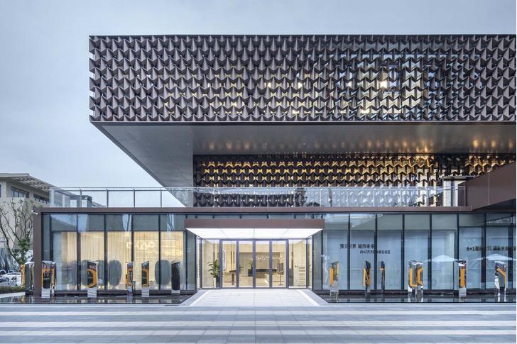 Брутальное здание офиса в Вэньчжоу (фото 2)