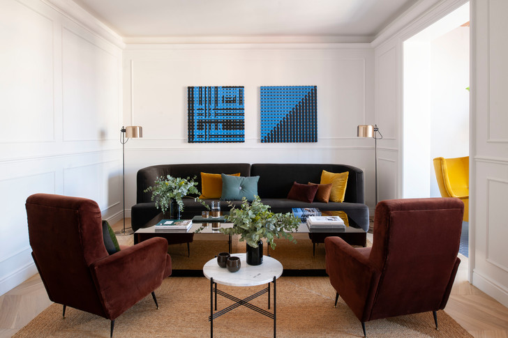 Квартира в стиле мидсенчури в Барселоне (фото 0)