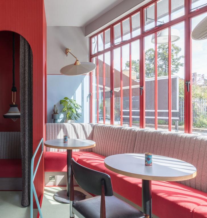 Ретро-кафе Piraña в Лондоне (фото 3)