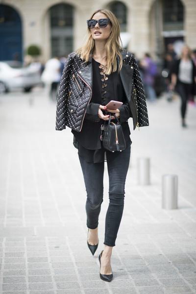 Секреты стиля Оливии Палермо | галерея [2] фото [2]