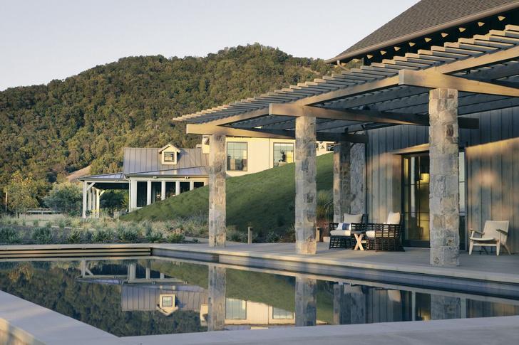 Современное ранчо в долине Сонома по проекту Wade Design Architects (фото 4)