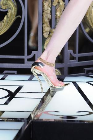 Показ Atelier Versace коллекции сезона Весна-лето 2013 года haute couture - www.elle.ru - Подиум - фото 477415