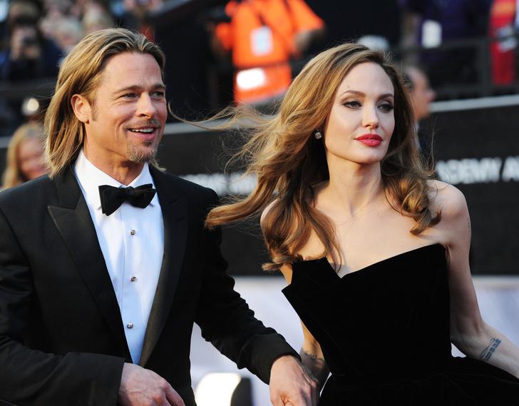 Анджелина Джоли и Брэд Питт встретят Рождество вместе (фото 1)