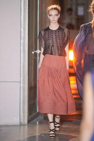 Показы мод Rue du Mail Весна-лето 2012 | Подиум на ELLE - Подиум - фото 1839