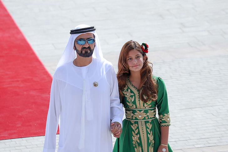 Принцесса Востока: премьер-министр Арабских Эмиратов представил дочь фото [5]