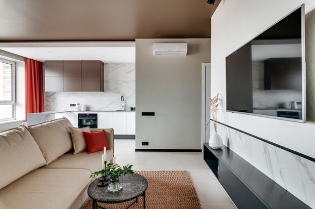 Современная квартира 70 м² с этническим декором (фото 8)