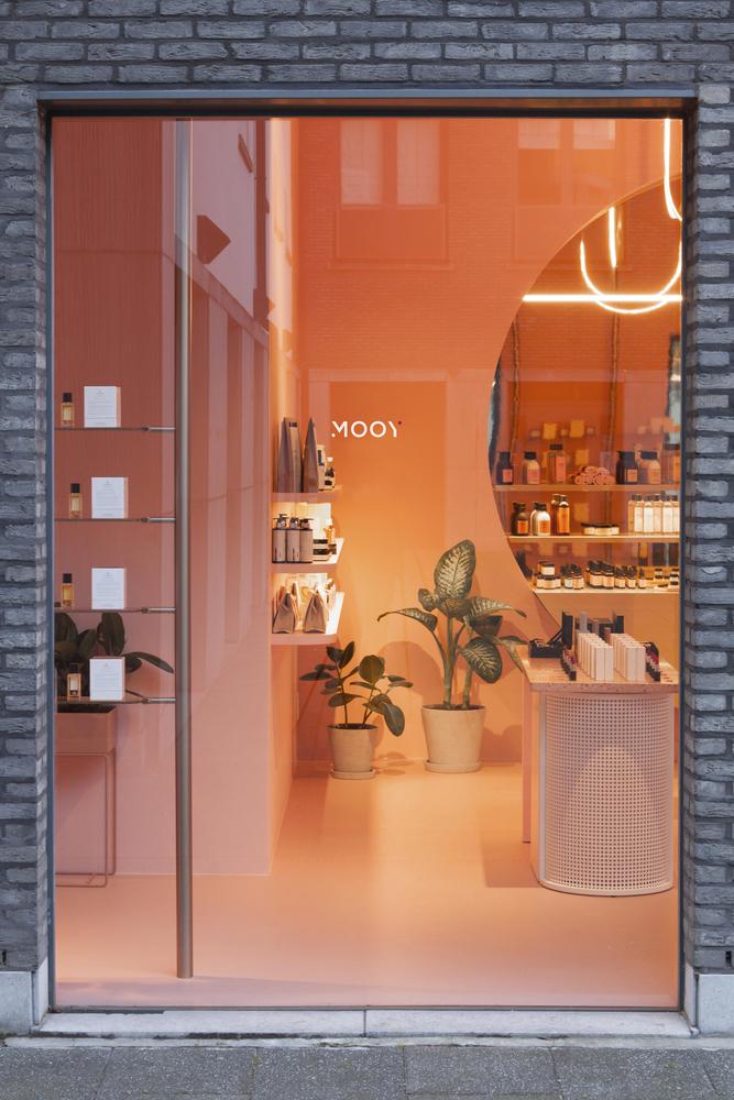 Шоурум и кафе Mooy в Антверпене (фото 8)