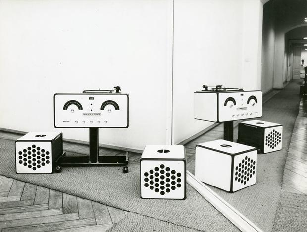 Выставка к 100-летию Акилле Кастильони в музее Триеннале (фото 4)