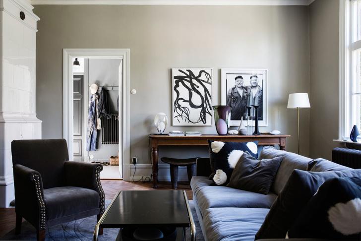 Голубая мечта: дом шведской художницы Гуннель Салин (фото 7)