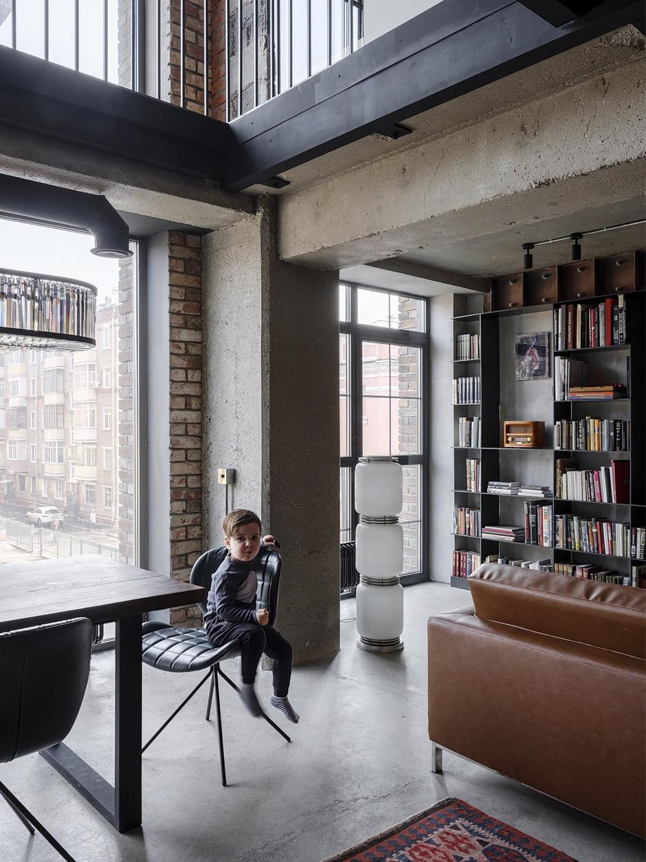От заката до рассвета: квартира в стиле лофт (фото 5)