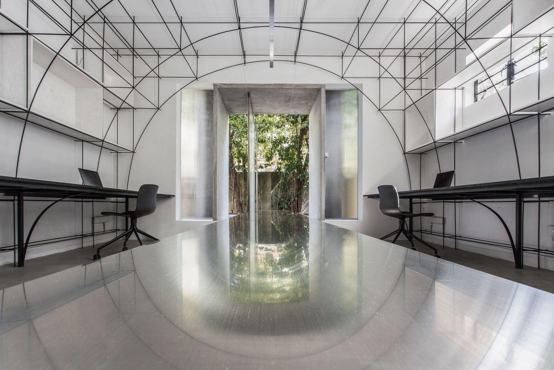 Монохромный офис в Шанхае (галерея 6, фото 1)