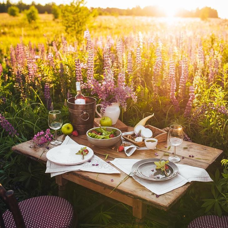 Instagram недели: яркие идеи для летней сервировки (фото 5)