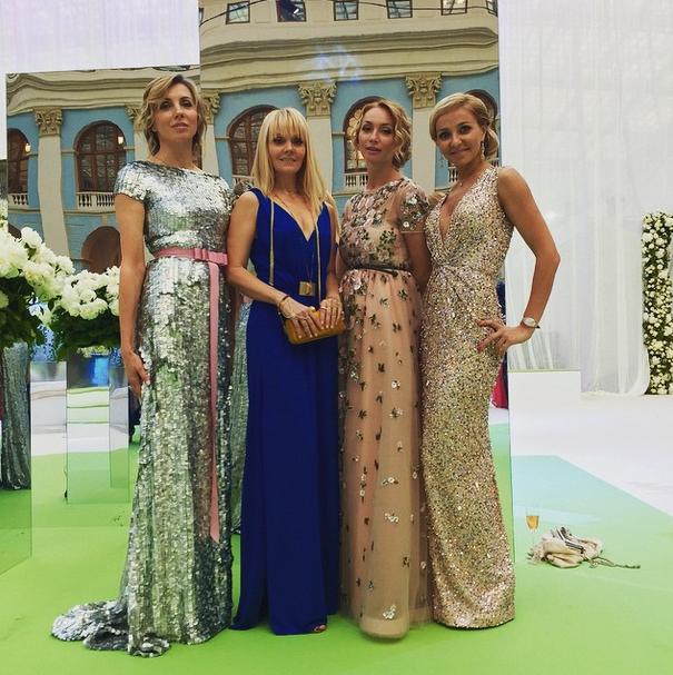 Светлана Бондарчук, Валерия и Татьяна Навка