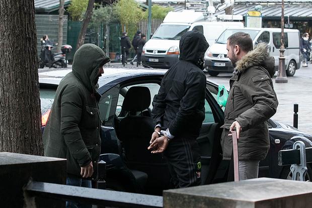 Задержание подозреваемых в ограблении Ким Кардашьян