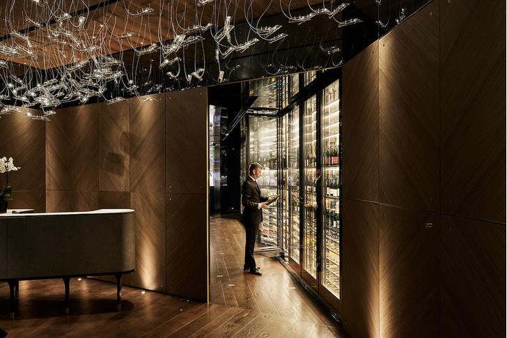 Современный японский ресторан по проекту Маурицио Лаи (фото 8)