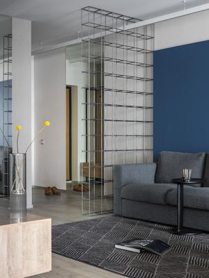 Яркая квартира 65 м² в Саратове с видом на Волгу (фото 1)