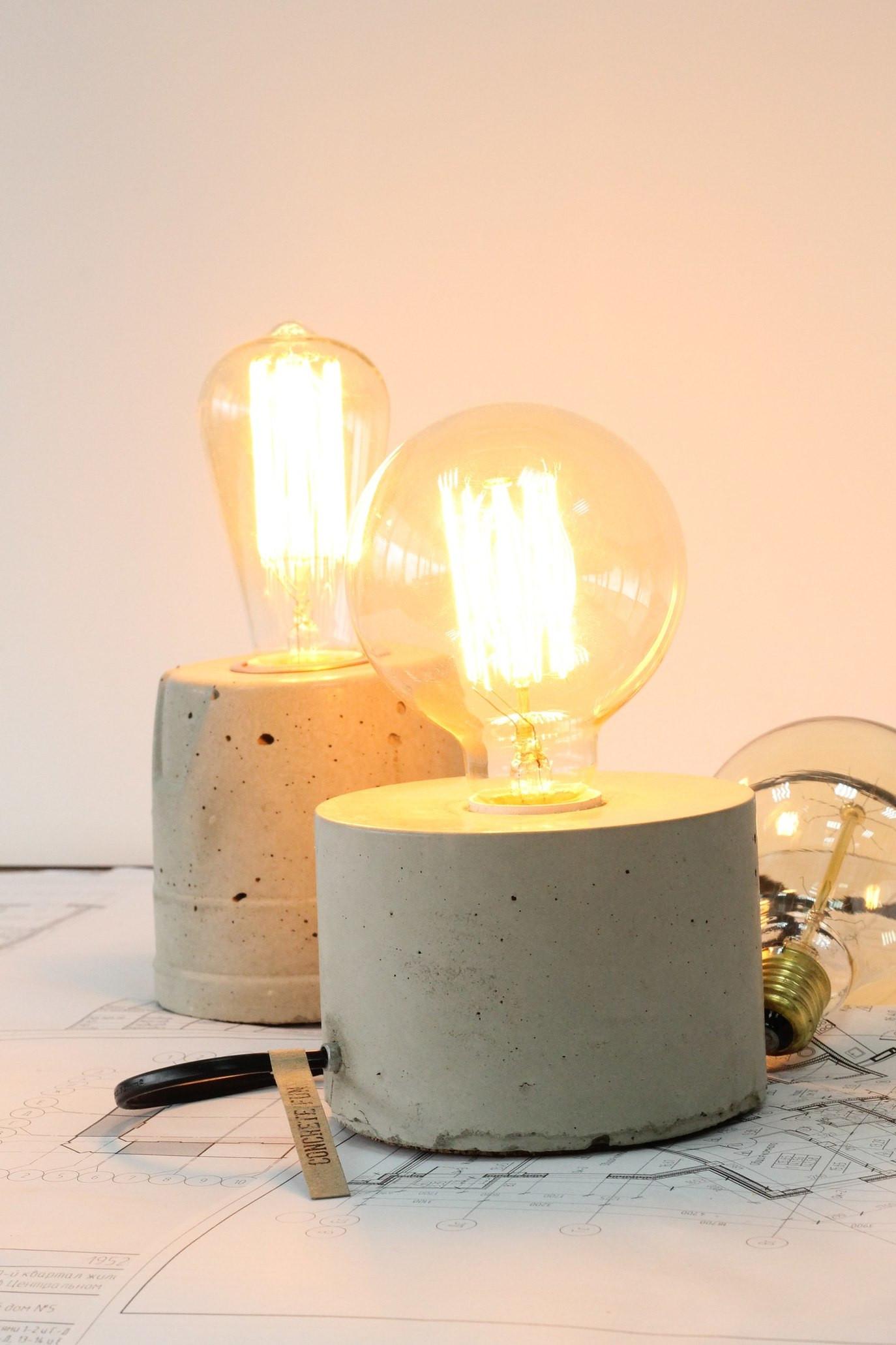 Бетонные светильники | галерея [3] фото [5]