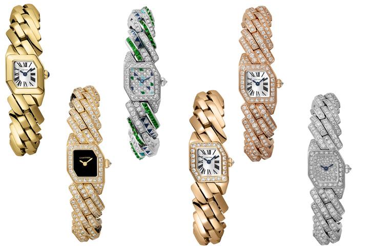 Новые и очень красивые часы Maillon de Cartier поступили в продажу (фото 7)