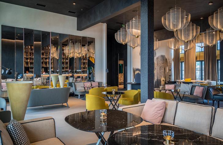 Monograph: дизайн-отель с баром и рестораном в Тбилиси (фото 10)
