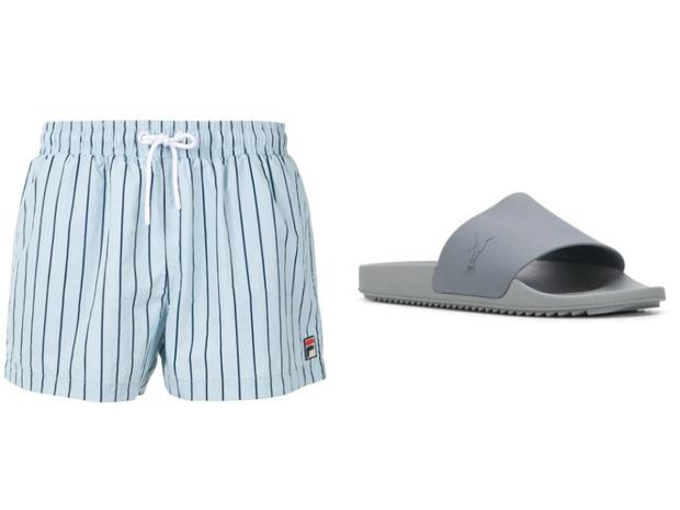 Самое летнее сочетание: шорты + слайдеры (фото 16)