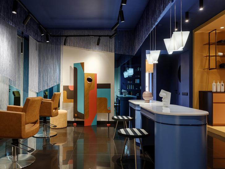 Салон красоты в стиле 60-х (фото 4)
