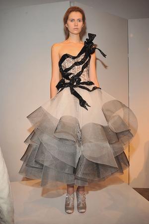 Показы мод Marchesa Осень-зима 2009-2010 | Подиум на ELLE - Подиум - фото 3221
