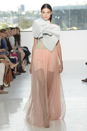 Показы мод Delpozo Весна-лето 2015 | Подиум на ELLE - Подиум - фото 4093