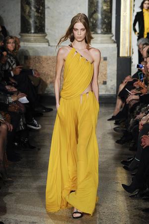 Показы мод Emilio Pucci Осень-зима 2014-2015 | Подиум на ELLE - Подиум - фото 3955