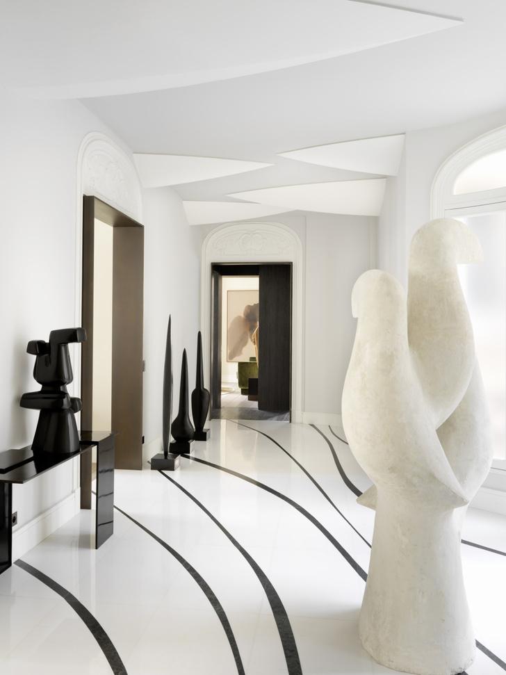 Светлая квартира с видом на Музей Гиме (фото 10)