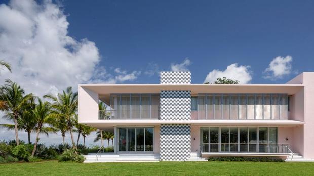 Вилла в Майами для коллекционера искусства (фото 0)