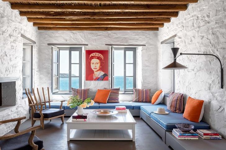 Дом дизайнера Эндрю Шейнмана в Греции (фото 2)