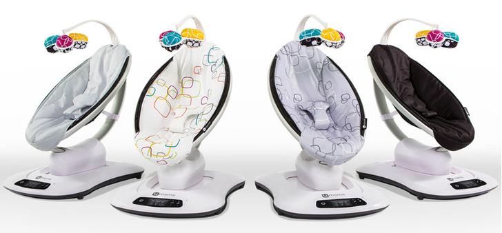 Обновленная качалка для новорожденных 4moms mamaRoo 4.0 фото