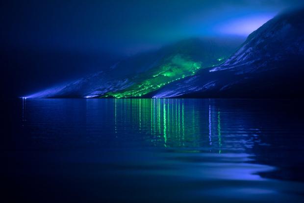 Северное сияние: световое шоу художника Кари Колы (фото 3)
