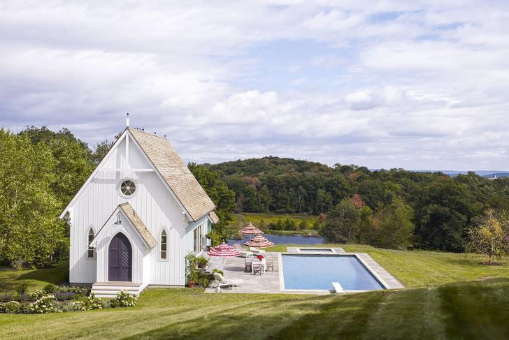 15 восхитительных проектов бассейнов для загородного дома (фото 12)