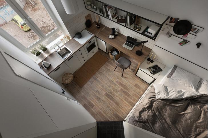 Квартира 18 м² (фото 0)
