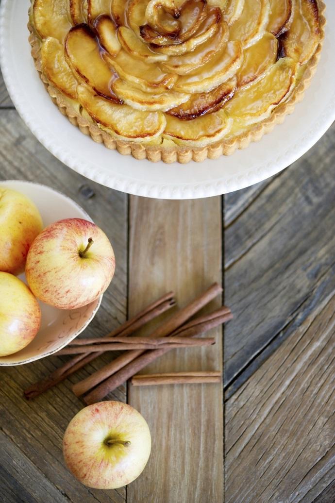 Торт из яблочного пюре
