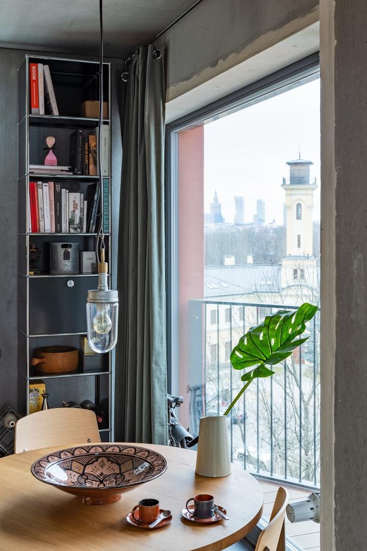 Бетонная квартира 55 м² архитектора Пшемо Лукашика в Варшаве (фото 10)