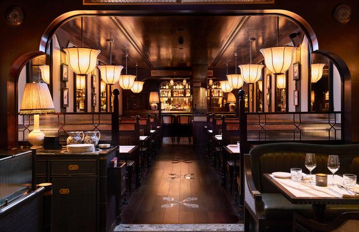 Лондонский бар Gymkhana в колониальном стиле (фото 3)