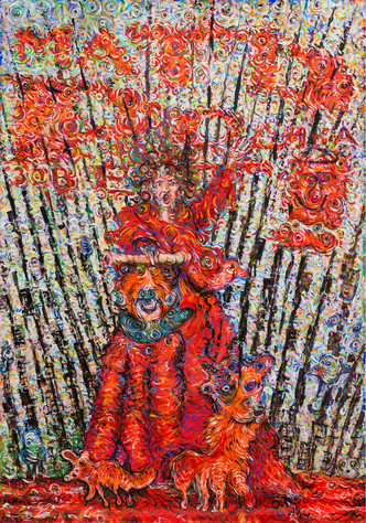Олег Кулик в галерее ГУМ-Red-line (фото 4.1)