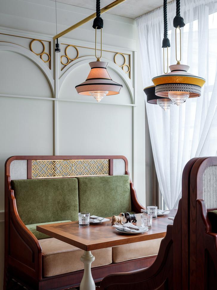 Ресторан Buro в ЦУМе: проект NB Studio (фото 4)