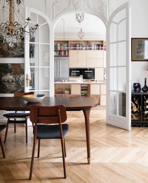 Модные кухни из фанеры: 10 удачных решений (фото 7)