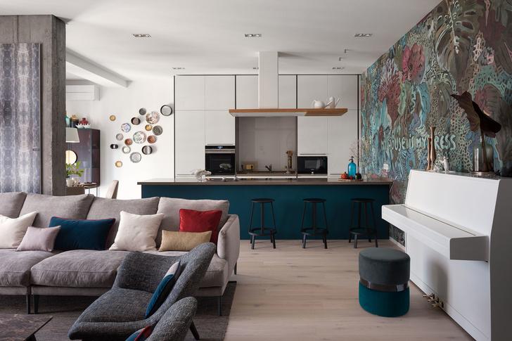 Дизайнерская квартира для трех сестер в Киеве (фото 3)