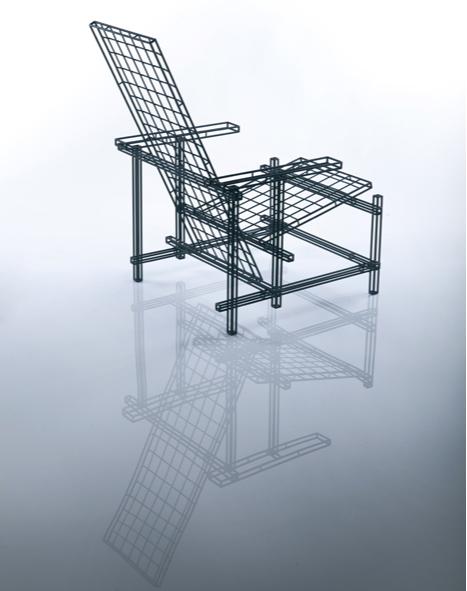 Культовый объект: 100 лет креслу Red Blue Геррита Ритвельда (фото 12)