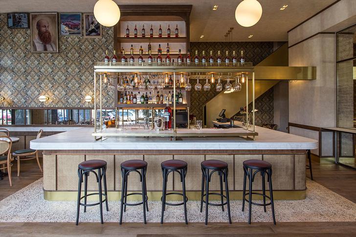Афинский ресторан в стиле ретро (фото 3)