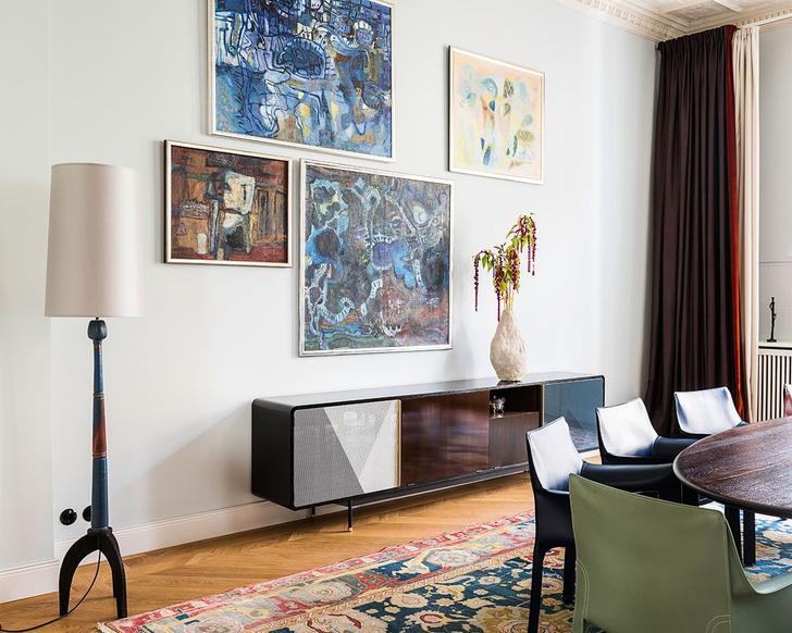 Традиции и современность: квартира в Берлине (фото 9)