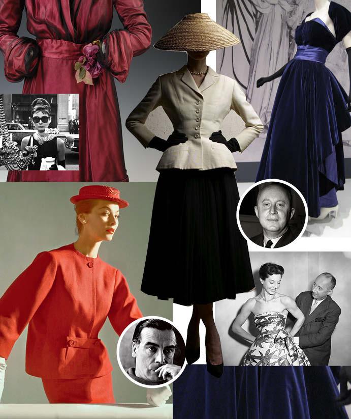 1950-е: Расцвет парижской моды и новой женственности