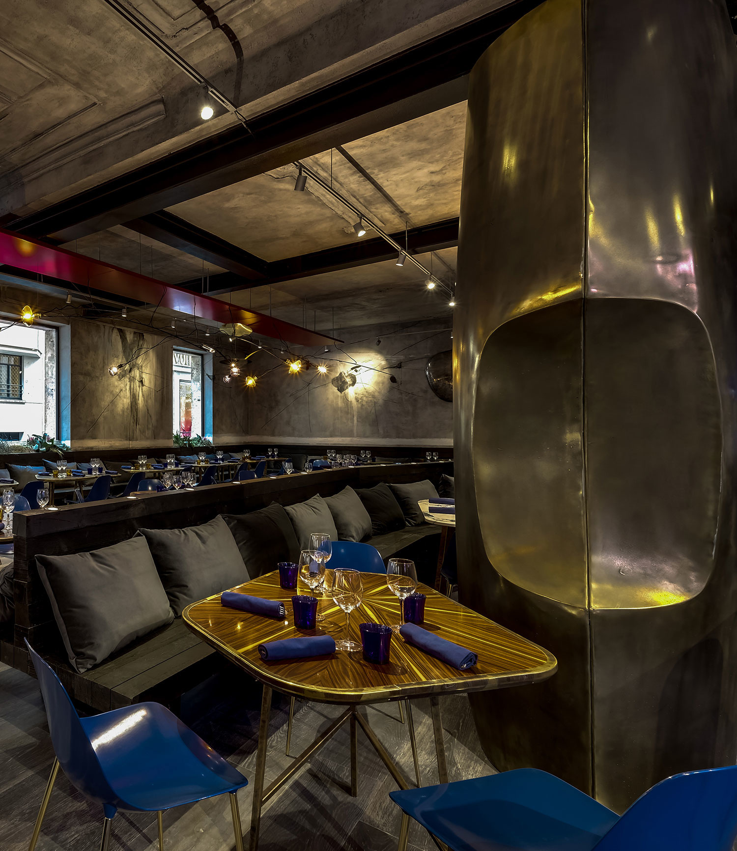 Парижский ресторан Jacopo – проект Натальи Белоноговой (галерея 8, фото 0)