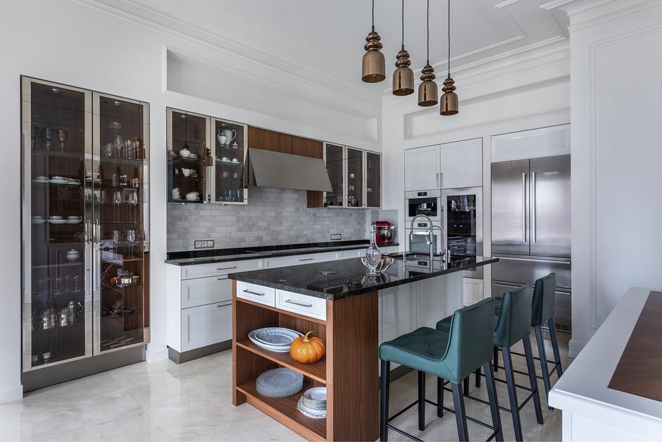 Барная стойка на кухне: 20 идей (галерея 0, фото 11)